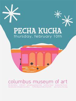 Pecha Kucha Feb. 10 Poster