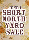 Short North Yard Sale 2011 Poster